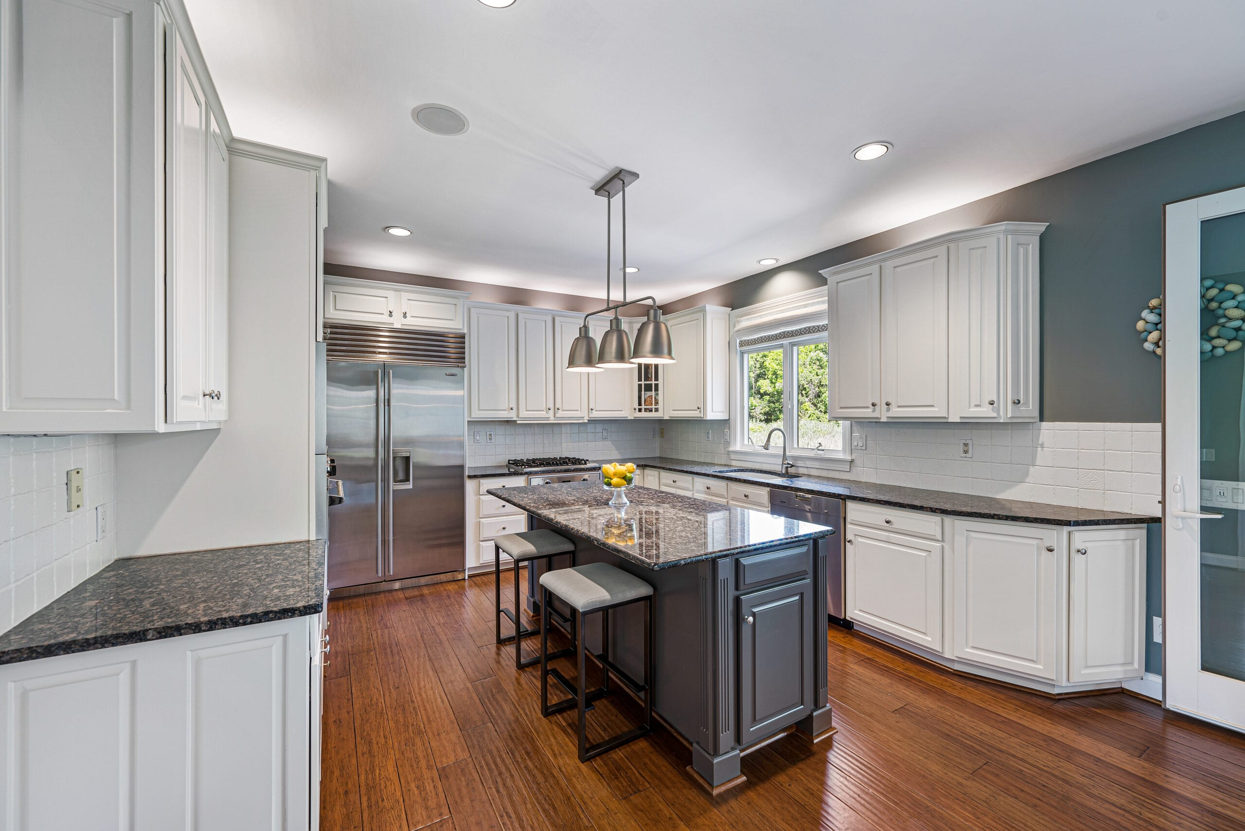 Chester County Real Estate Photography of a high end kitchen