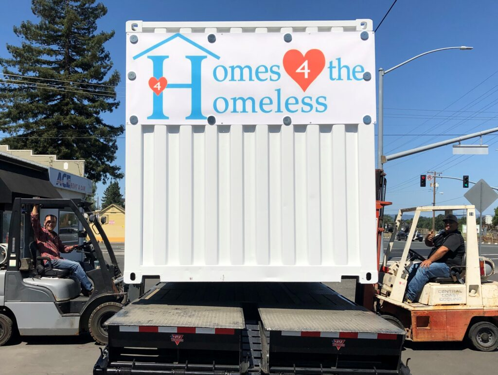 Homes 4 Homeless Modular Container