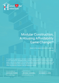 Modular Construction Research Cover