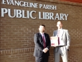 Jacob Fusilier & Greg Vidrine, Lawyers in Libraries