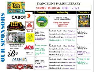 Basile Branch - Summer Reading @ Basile Library