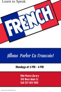 Allons Parler En Francais @ Main Library (Ville Platte)