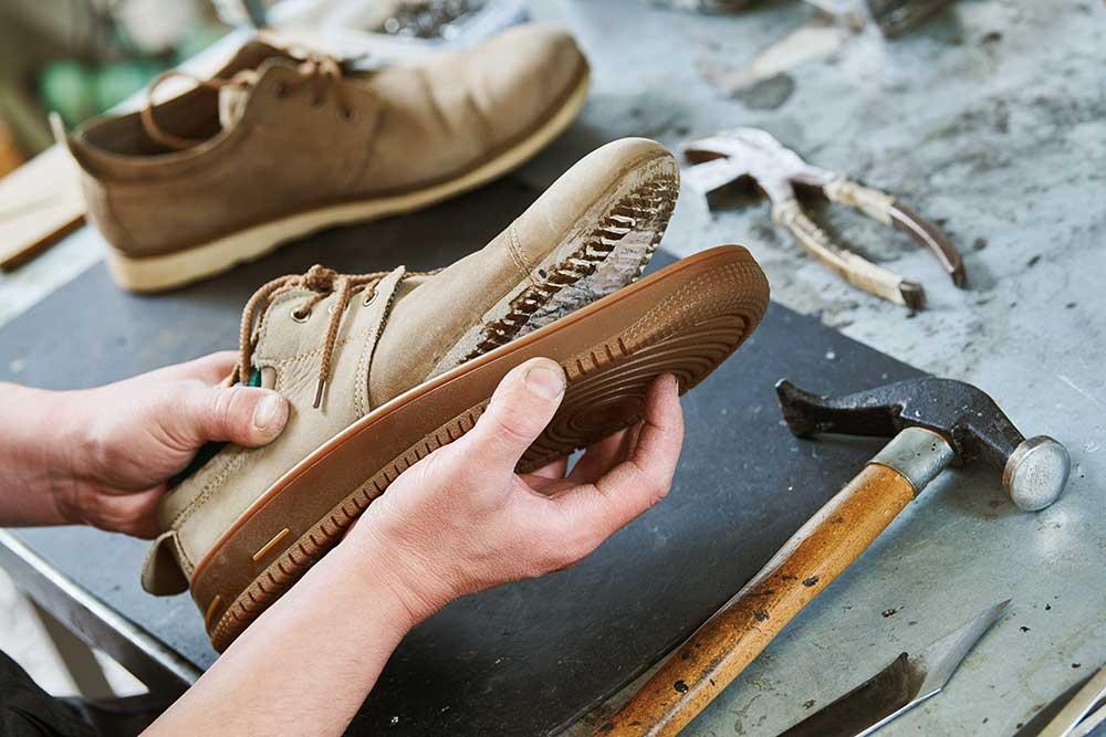 Nobile Shoes, Stuart, Florida, repairs all types of soles