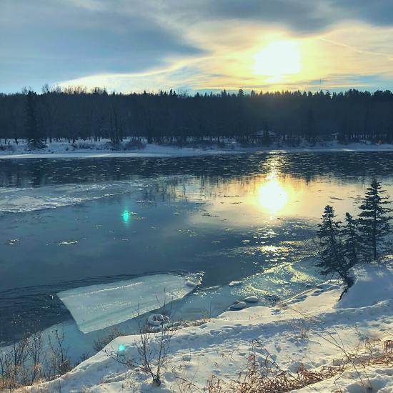 Micro-joy, Bow River