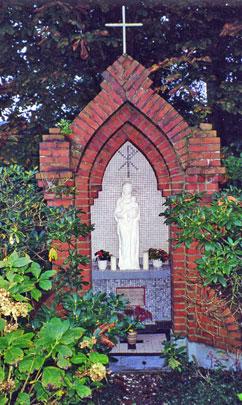 A religious shrine