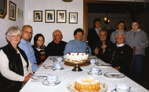 A family birthday