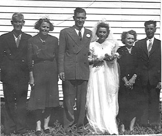 A couple and their wedding
