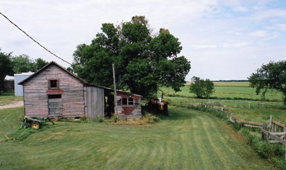 An old shed or storehouse
