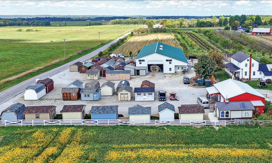Yoder Barns Ohio