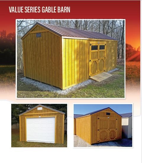 Value Gable Barn