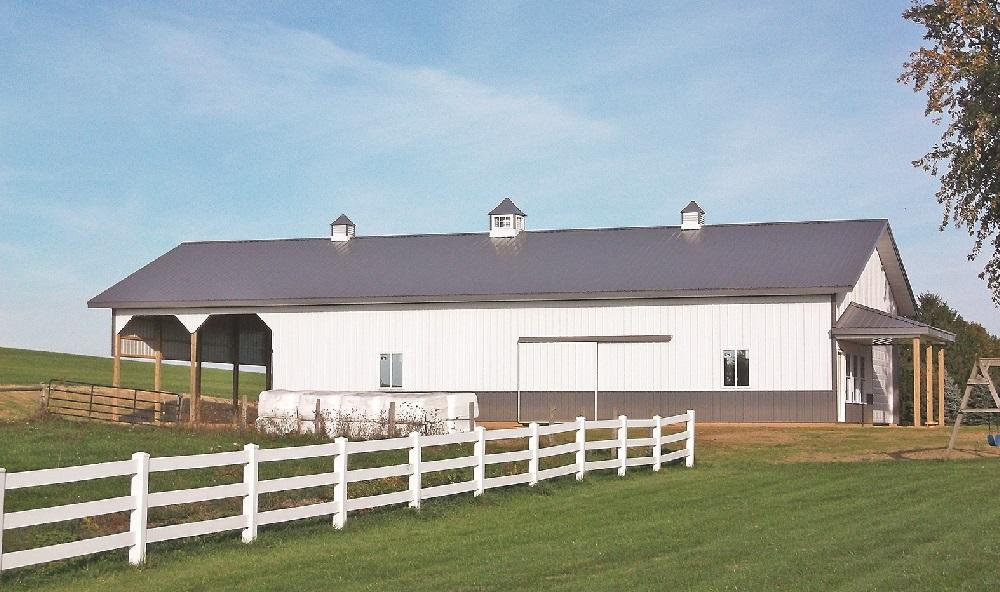 Yoder Barns Ohio Pole Barn
