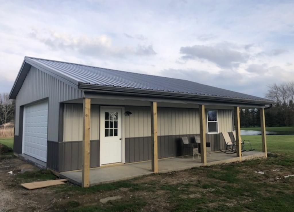 Pole Barn / Garage Equipment Storage