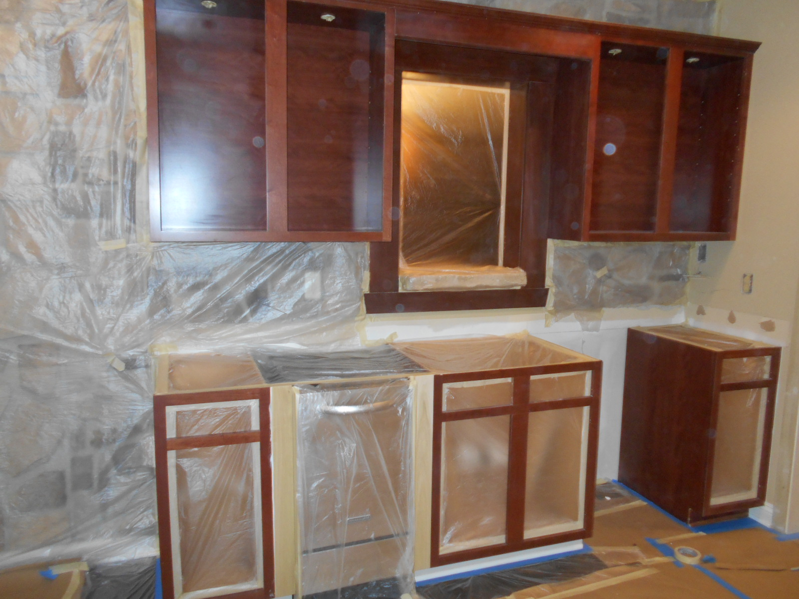 Cabinet Painting - Prep