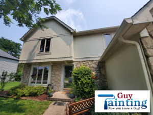 Prior to professional house painting in Indianapolis