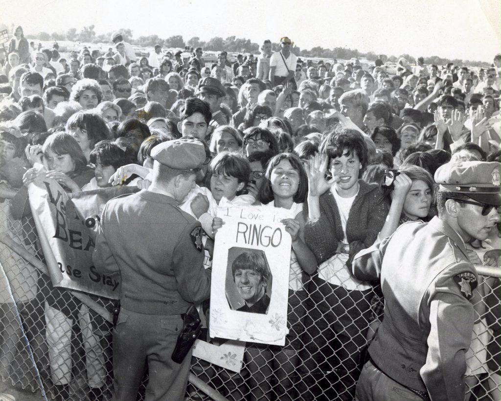 1965, San Francisco International Airport. Photograph provided courtesy of Lynn Catalana.