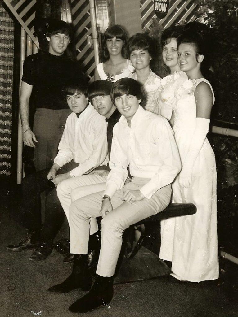 Dave Clark Five, at The Safari Room, circa 1965. Photograph provided courtesy of Lynn Catalana.
