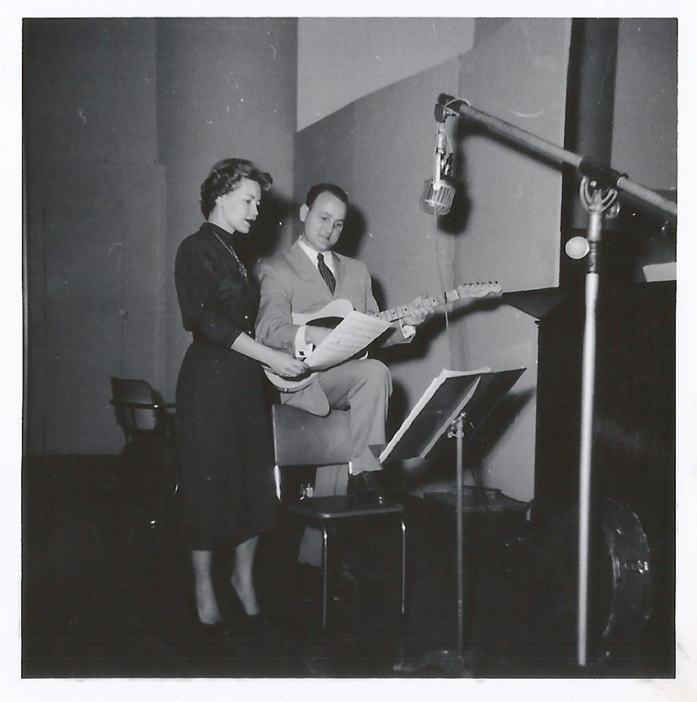 Lee's mom, Charlotte Kopp, recorded for DOT/Parrot records under the name Cory Lind.