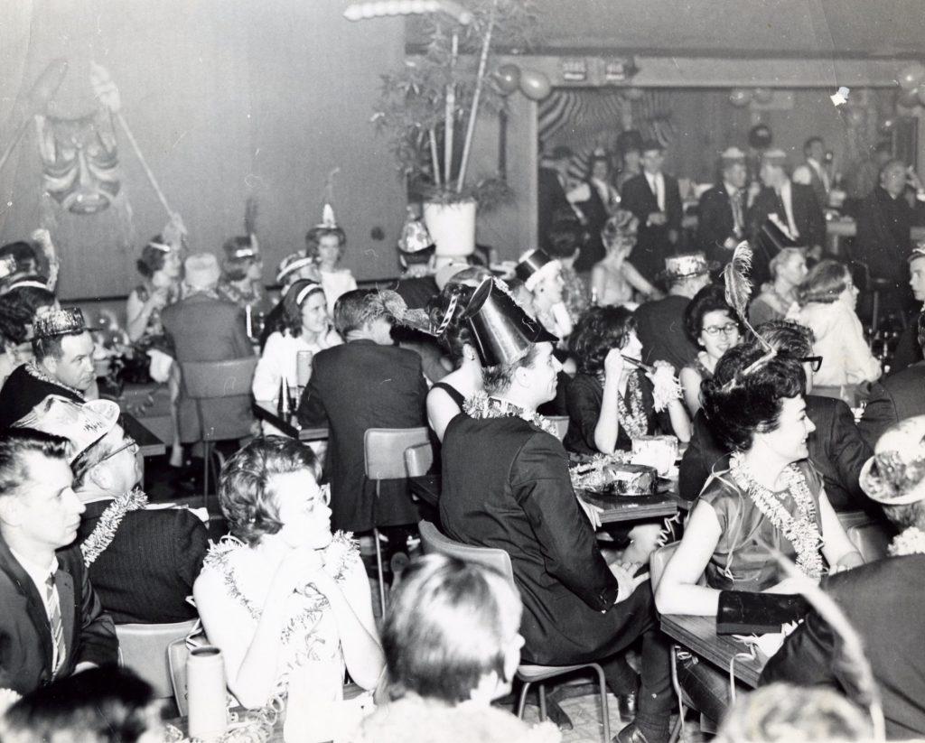 New Year's Eve, circa 1963. Photograph provided courtesy of Lynn Catalana.