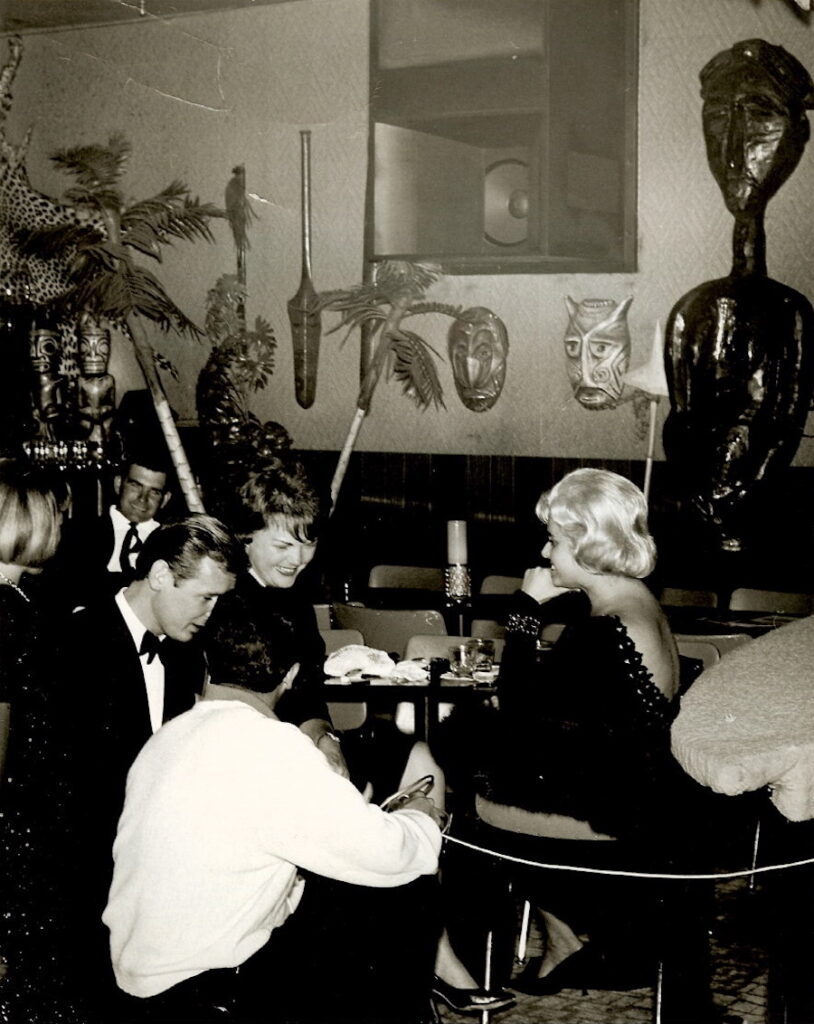 The Safari Room, circa 1964. Photograph provided courtesy of Lynn Catalana.