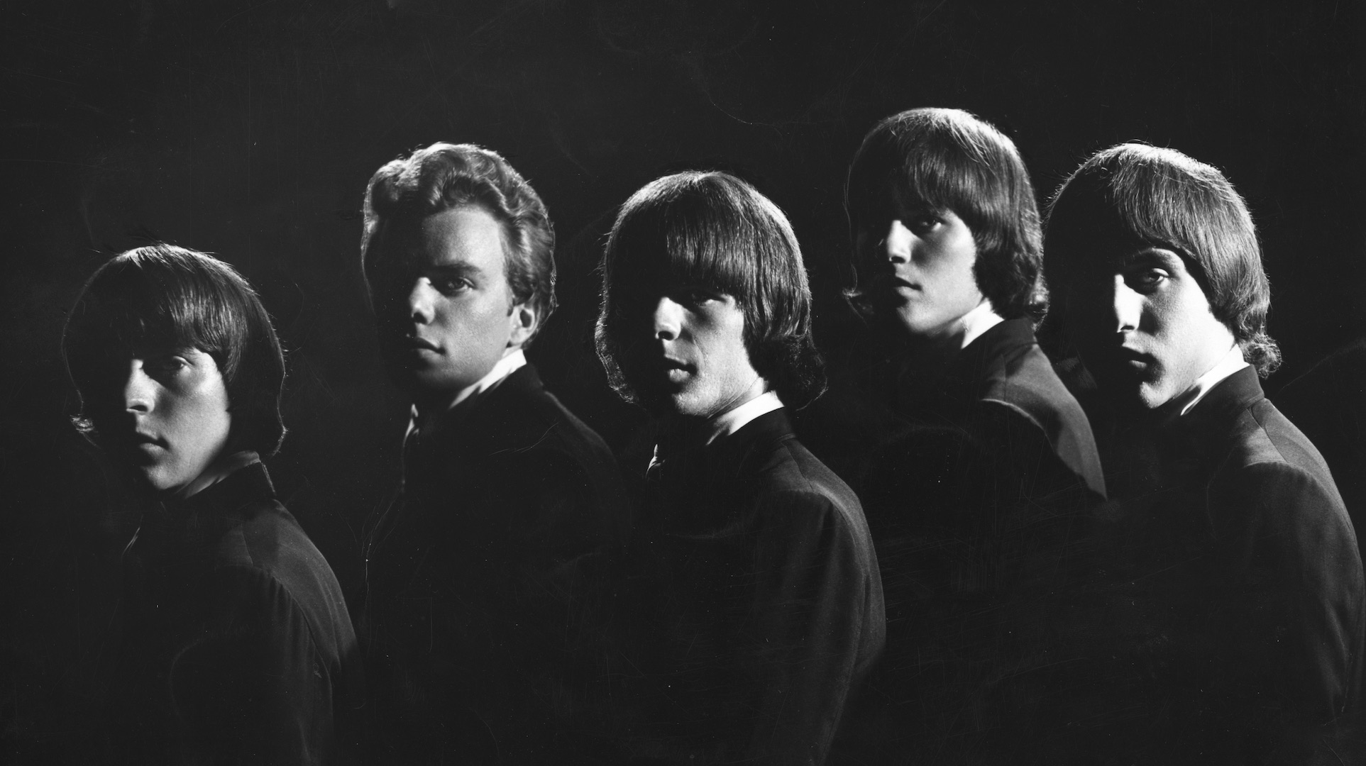 SOS publicity photo fall of 1965, L-R Larry Ray, John Duckworth, John Sharkey, Don Baskin, Bob Gonzalez