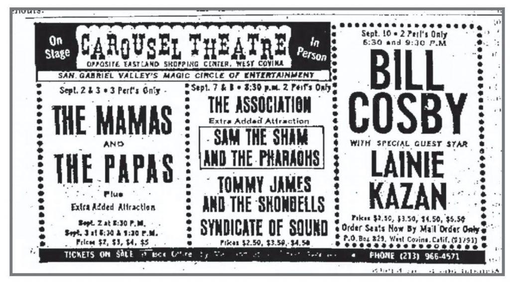 San Jose Rocks Syndicate Carousel Theater