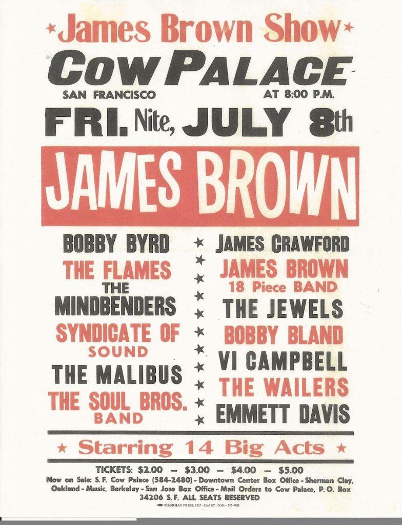 San Jose Rocks Syndicate James Brown
