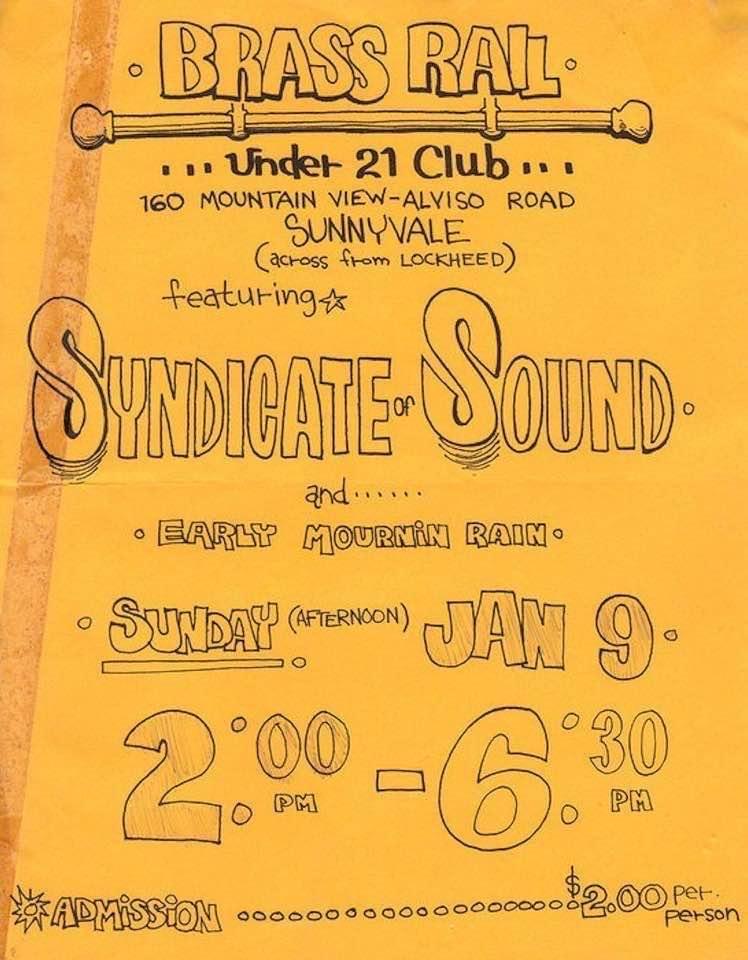 San Jose Rocks Syndicate of Sound