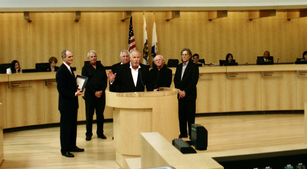 SOS Commendation from City of San Jose for induction into BMI's Million-Air Club. August 14, 2007.