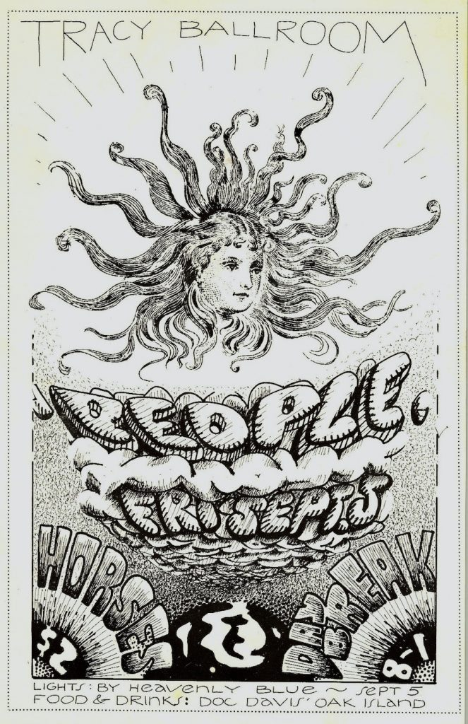 people concert poster-1969