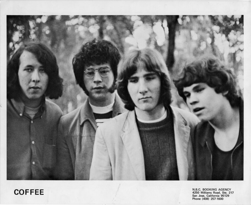 Coffee. John Tristao (2nd from left)
