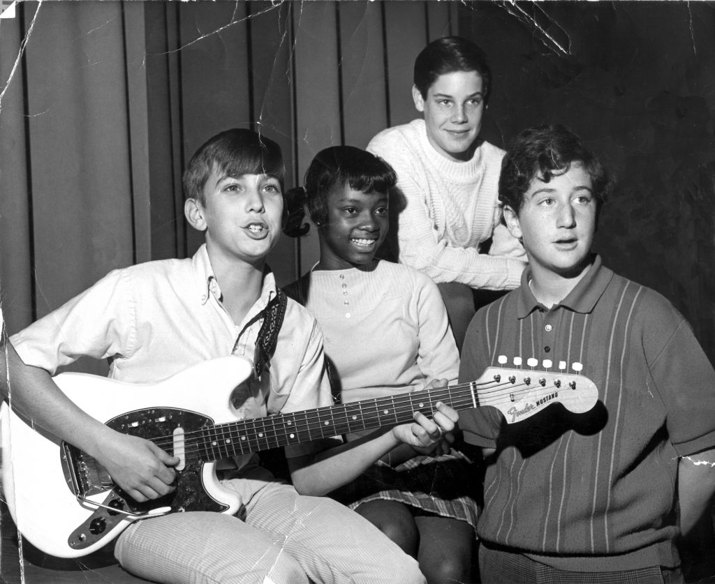 1968: A publicity photo that ran in the Daly City Record promoting a talent show.