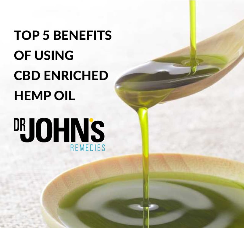 Top 5 Benefits of Using CBD Enriched Hemp Oil