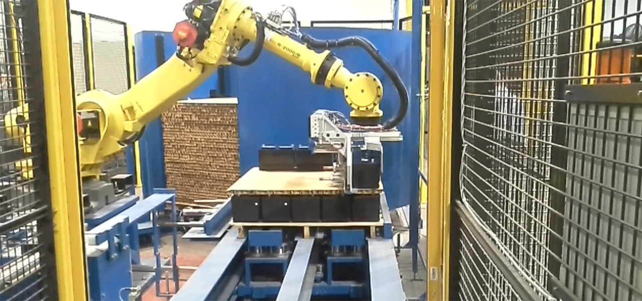 AE Robotic Palletizer