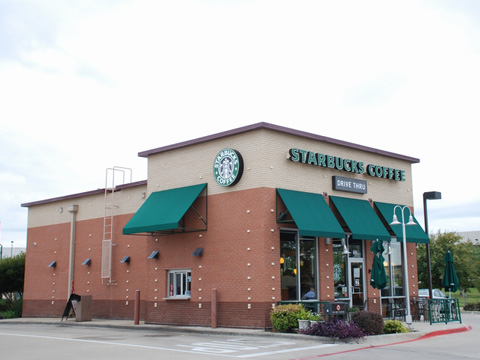 Starbucks Coffee Corporate Awning