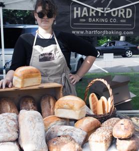 Hartford Baking Company at the Simsbury Farmers Market