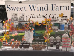 Sweet Wind Farm  at Simsbury Farmers Market