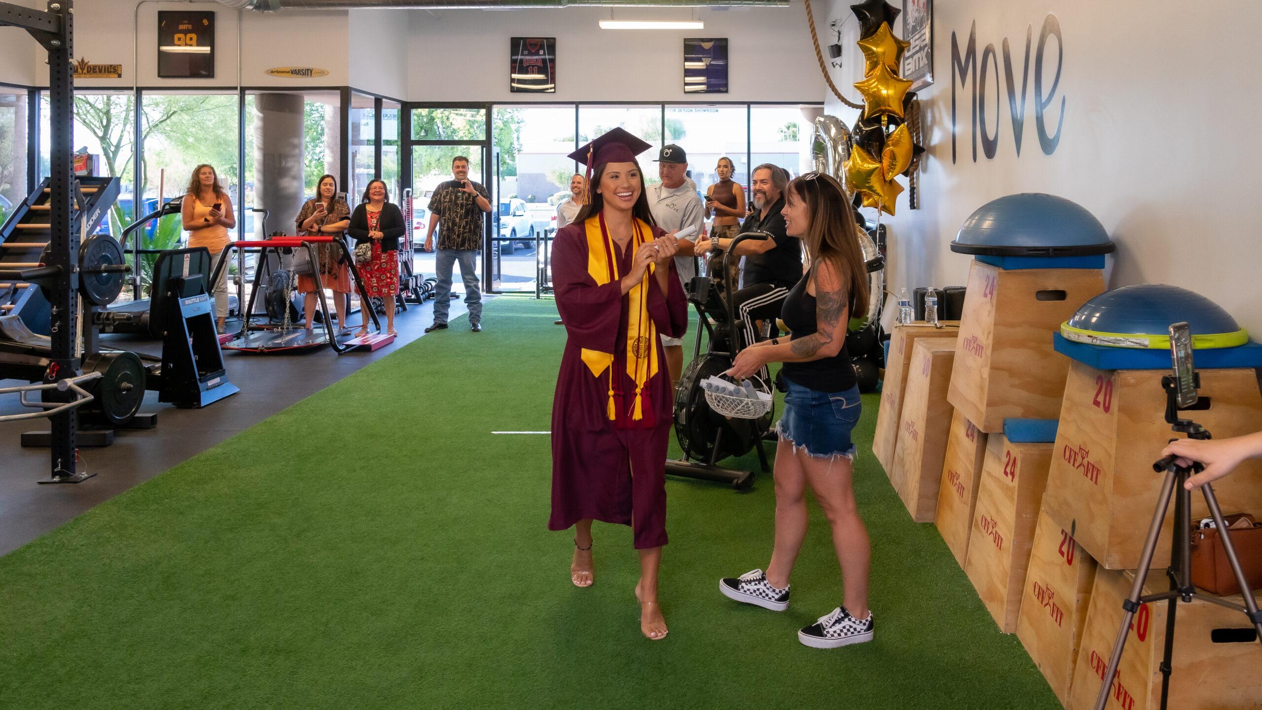Walking MOVE Graduation