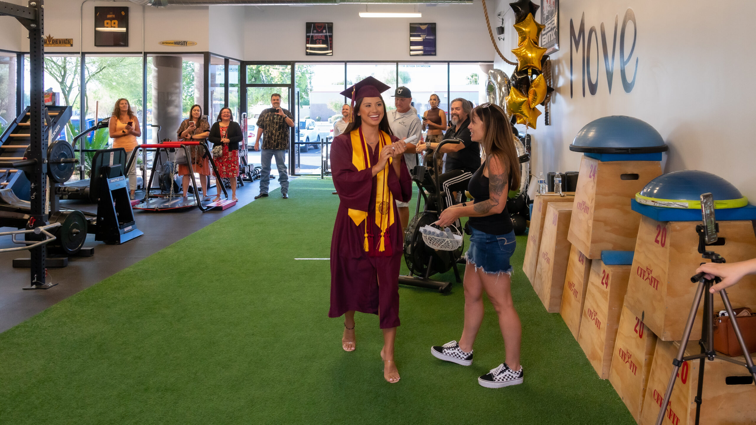 Walking MOVE Graduation
