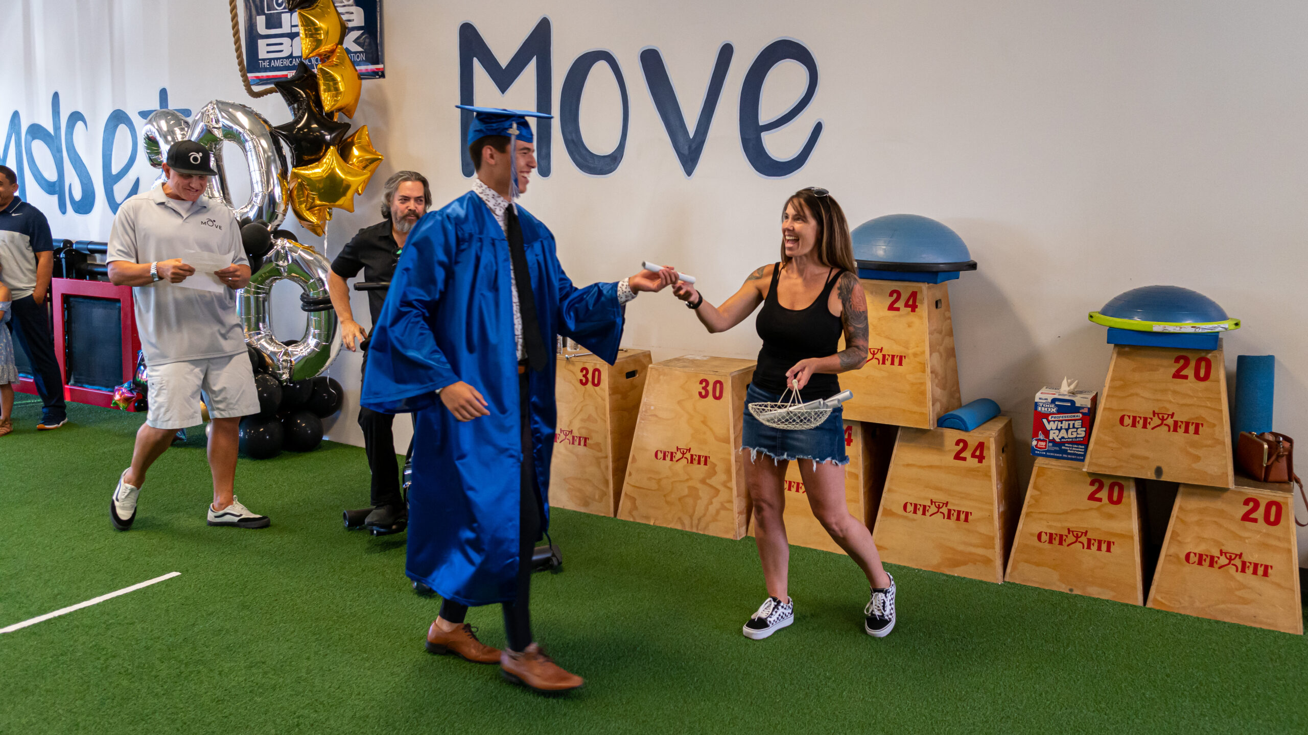 Physical Therapy Move Graduation