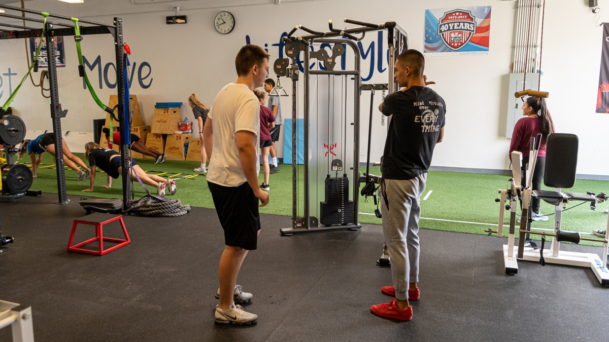 Sports Training at Move