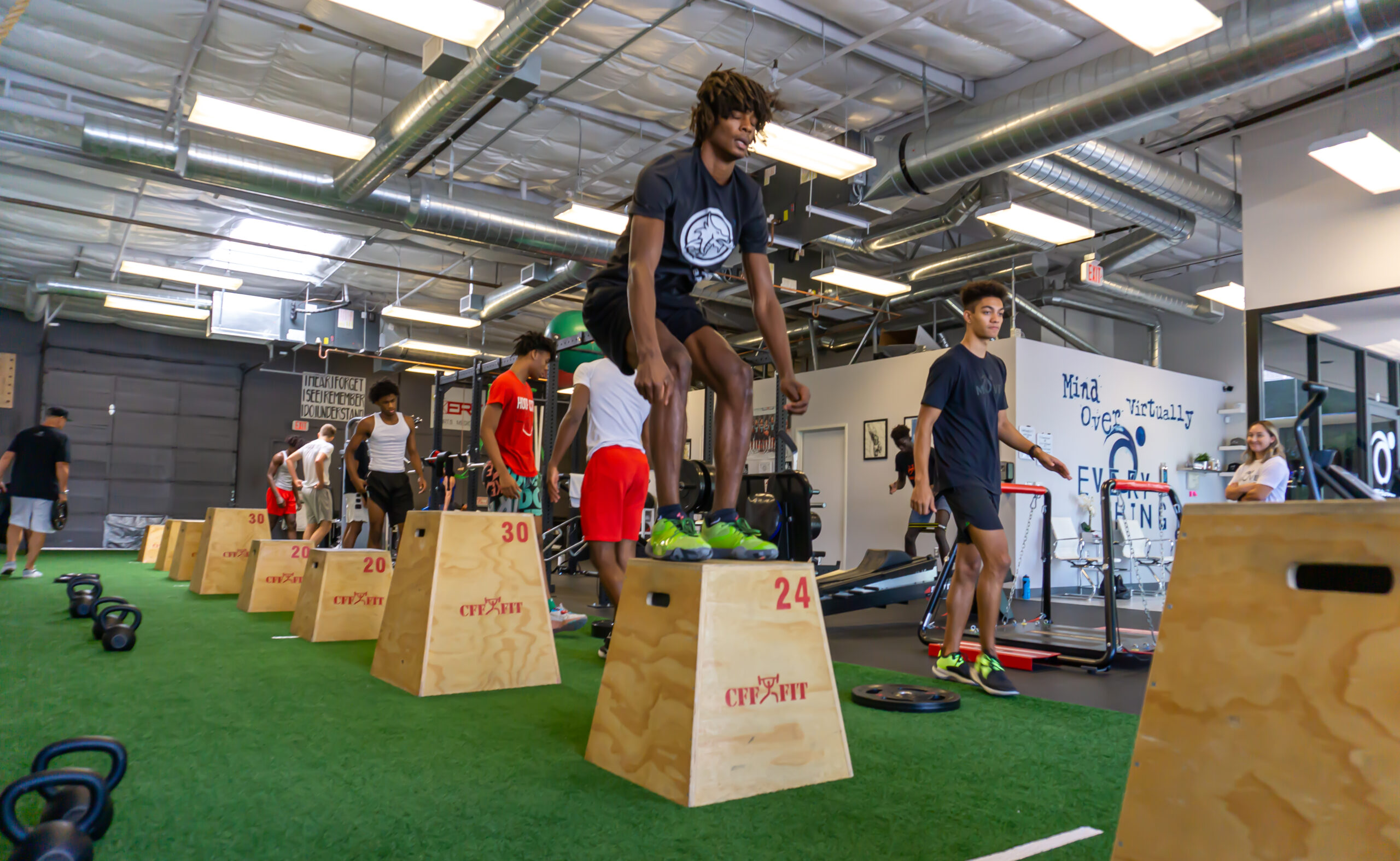 Sports Performance-Improved Strength and Condition