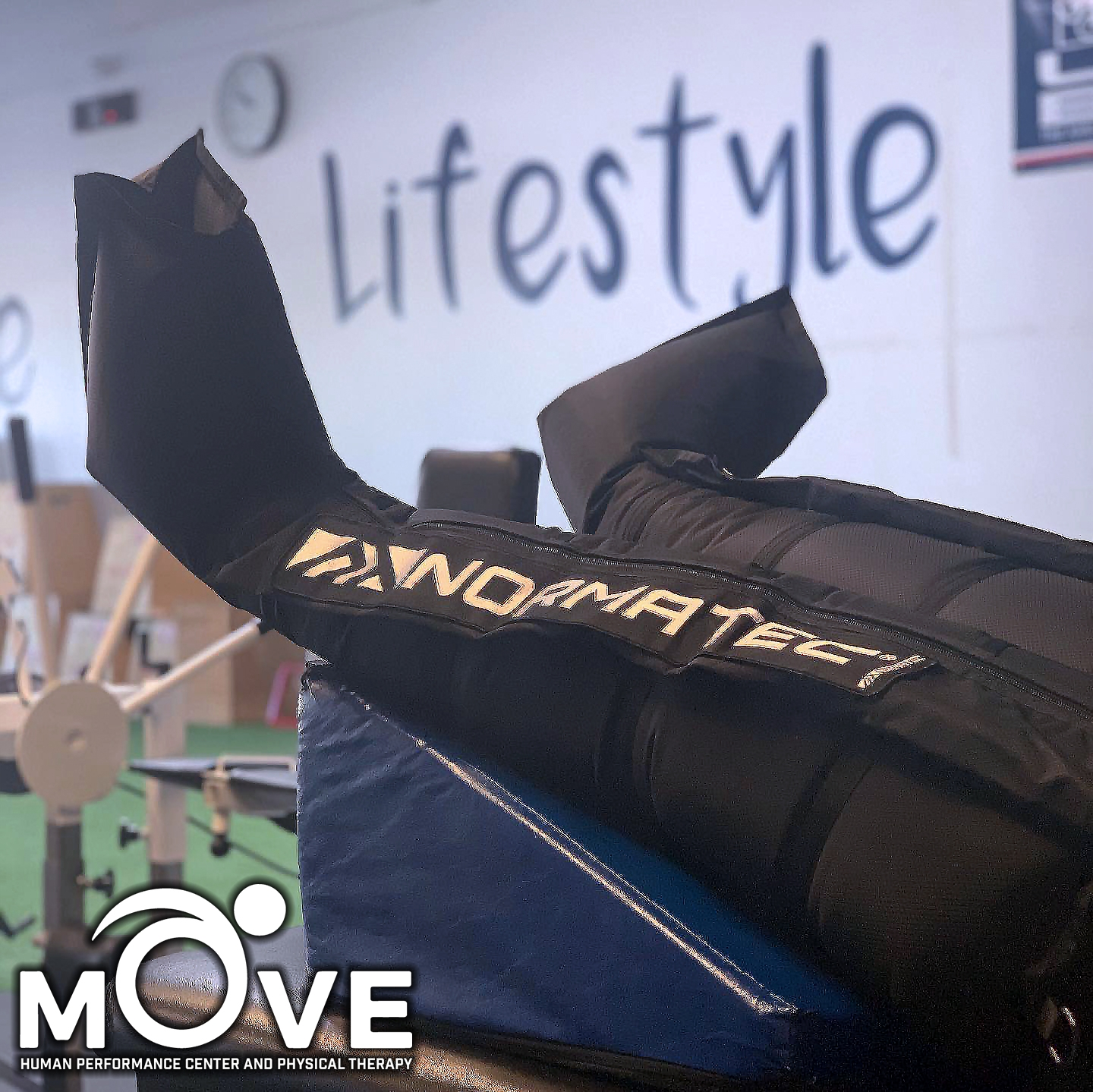 Compression Therapy at Move Physical Therapy & Human Performance Center