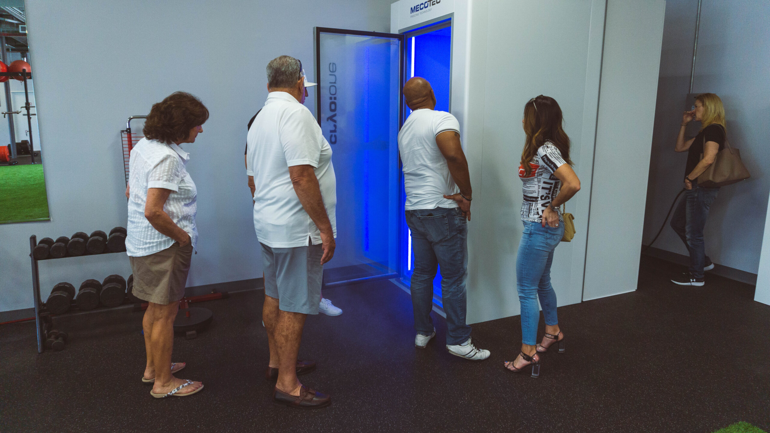 Local Whole Body Cryotherapy