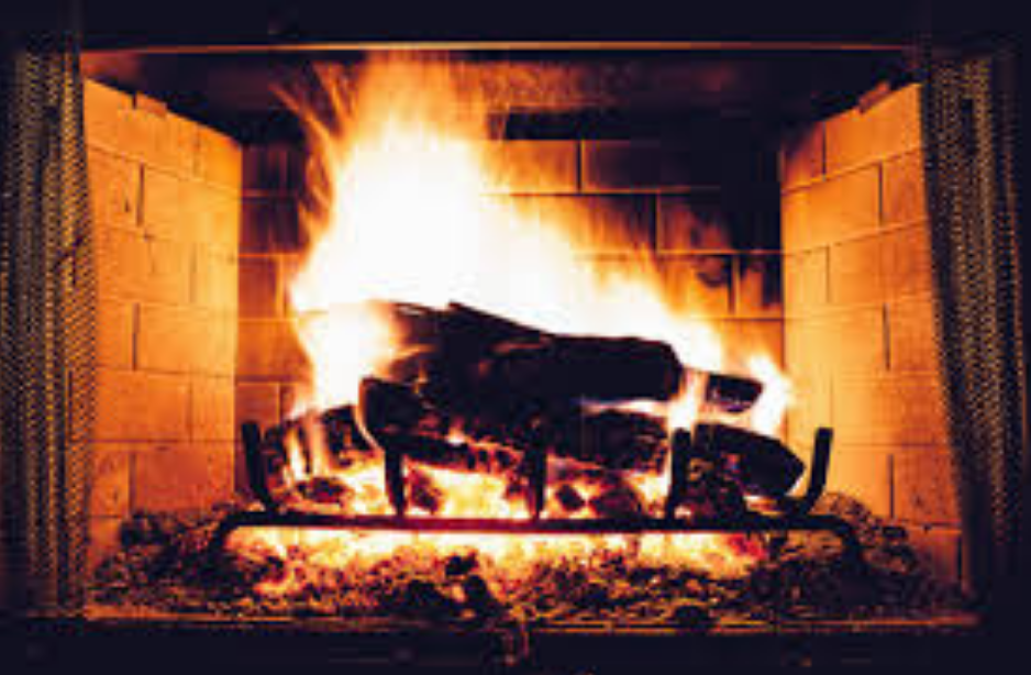 fireplace smoke in the house