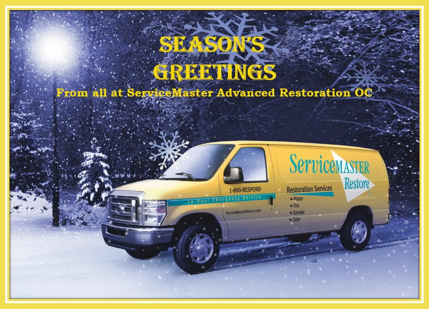 season's greetings from ServiceMaster OC