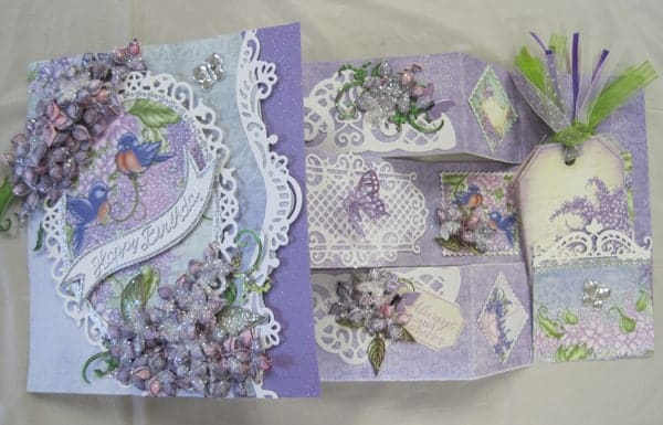 June 30 Heartfelt Lush Lilac Cards with Lynda