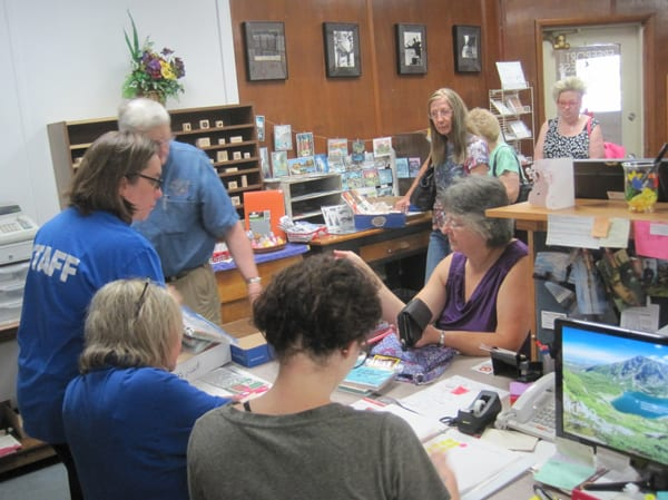 Aug. 3 – 14th Annual Open House & Used Stamp Sale at Pretzel City Paper!