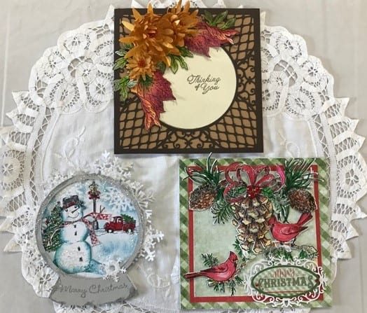 Sept. 24 Thurs., Heartfelt card class –  1 p.m.