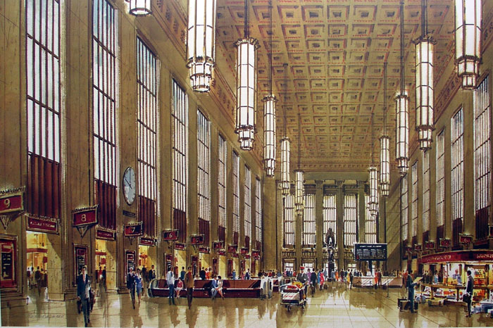 30th Street Station by William Ressler