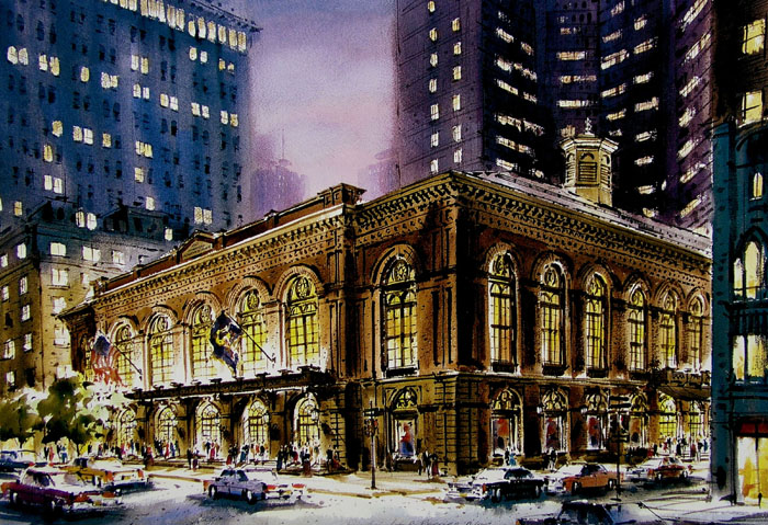 Academy of Music by William Ressler